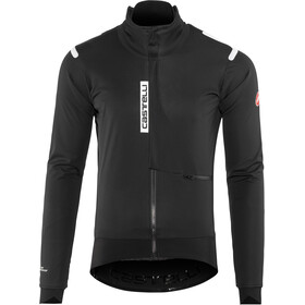 Castelli Alpha Ros Jakke Herrer, light black/black